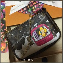 Louis Vuitton MONOGRAM Unisex Petit Special Edition Kids Girl Bags