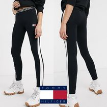 Tommy Hilfiger Casual Style Street Style Bi-color Cotton Long Skinny Pants