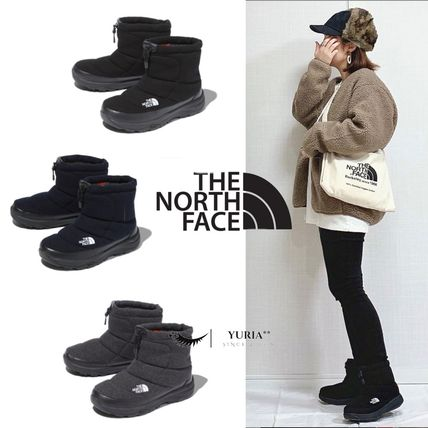 THE NORTH FACE Nuptse Unisex Logo Boots Boots
