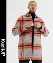 ASOS Other Plaid Patterns Wool Coats