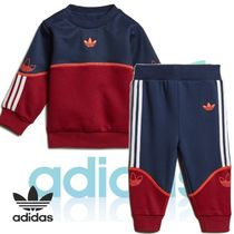adidas Unisex Blended Fabrics Co-ord Baby Girl Tops