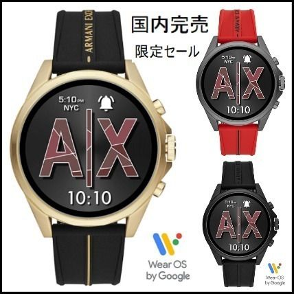 A/X Armani Exchange More Watches Blended Fabrics Street Style Watches Watches