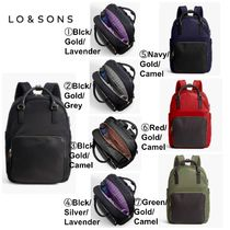 Lo & Sons Casual Style Plain Backpacks
