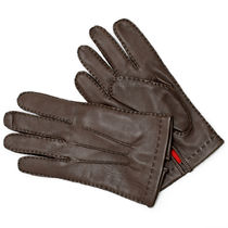 DENTS Silk Leather Leather & Faux Leather Gloves