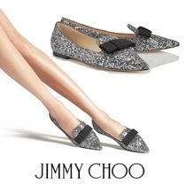 Jimmy Choo Open Toe Elegant Style Peep Toe Pumps & Mules