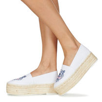 KENZO Platform Casual Style Other Animal Patterns Slip-On Shoes