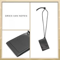 Dries Van Noten Plain Leather Coin Cases