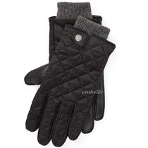 Ralph Lauren Leather Leather & Faux Leather Gloves