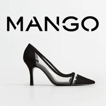 MANGO Pin Heels Pointed Toe Pumps & Mules