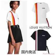 Louis Vuitton Lv Airline Patches T-Shirt