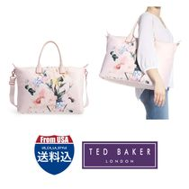 TED BAKER Unisex Street Style Totes