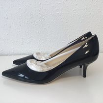 Jimmy Choo Enamel Plain Pin Heels Office Style