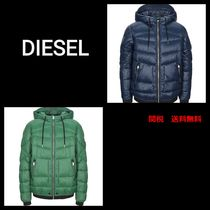 DIESEL Nylon Plain Jackets