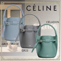 CELINE Big Bag Casual Style Leather Elegant Style Handbags