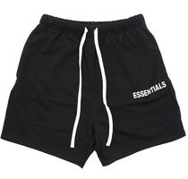 FEAR OF GOD Unisex Street Style Logo Shorts