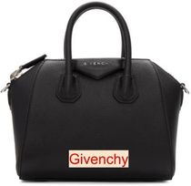 GIVENCHY 2WAY Plain Party Style Office Style Elegant Style Handbags