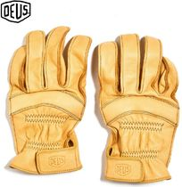 Deus Ex Machina Leather Handmade Leather & Faux Leather Gloves