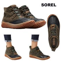 SOREL Platform Casual Style Suede Flat Boots