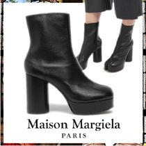 Maison Margiela Tabi Casual Style Leather Party Style Office Style
