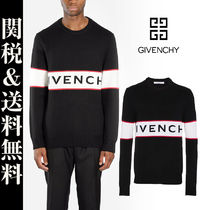 GIVENCHY Unisex Street Style Plain Home Party Ideas Knits & Sweaters