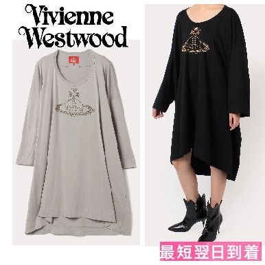 Casual Style Street Style Long Sleeves Cotton Long Dresses