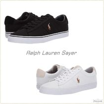 Ralph Lauren Blended Fabrics Plain Sneakers
