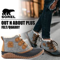 SOREL Rubber Sole Lace-up Casual Style Lace-up Boots