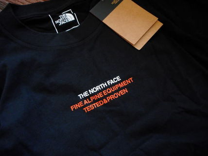 THE NORTH FACE More T-Shirts Unisex Street Style Collaboration Logo T-Shirts 3