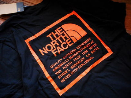 THE NORTH FACE More T-Shirts Unisex Street Style Collaboration Logo T-Shirts 4