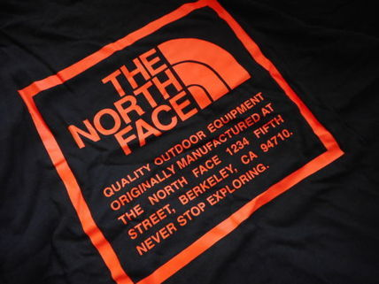 THE NORTH FACE More T-Shirts Unisex Street Style Collaboration Logo T-Shirts 6