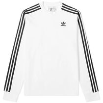 adidas Street Style Long Sleeves Plain Long Sleeve T-Shirts