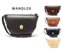 WANDLER Casual Style Crocodile Leather Party Style Office Style