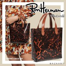 Ron Herman Casual Style Collaboration Office Style Elegant Style Totes