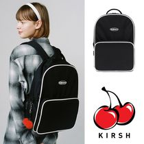 KIRSH Casual Style Street Style A4 Plain Backpacks