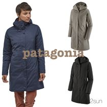 Patagonia Casual Style Street Style Plain Medium Long Office Style