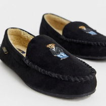 POLO RALPH LAUREN Driving Shoes Moccasin Unisex Other Animal Patterns