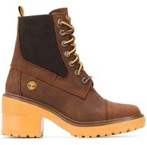 Timberland Plain Leather Logo Boots Boots