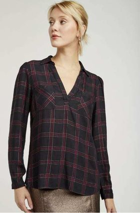 Other Plaid Patterns Casual Style Elegant Style