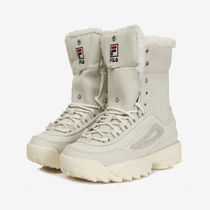 FILA Disruptor 2 Rubber Sole Casual Style Studded Street Style Shearling