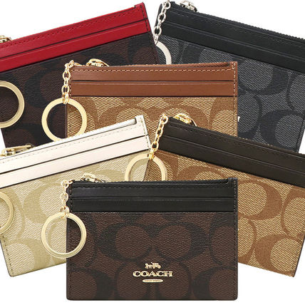 Leather PVC Clothing Card Holders