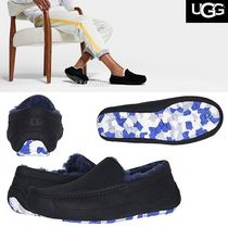 UGG Australia ASCOT Moccasin Suede Plain Loafers & Slip-ons