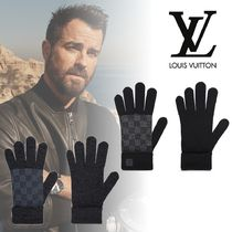 Louis Vuitton Monogram Wool Gloves Gloves