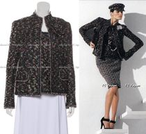 CHANEL TIMELESS CLASSICS CHANEL Multicolour Tweed Jacket & Tops F40