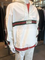 GUCCI Short Plain Logo Jackets