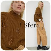Sfera Casual Style Medium Turtlenecks