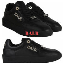 BALR Plain Leather Sneakers