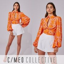 Cameo the Label Casual Style Puffed Sleeves Long Sleeves Medium
