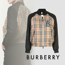 Burberry Other Check Patterns MA-1 Bomber Jackets