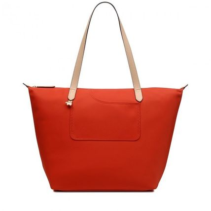 Casual Style Nylon Plain Office Style Elegant Style Totes