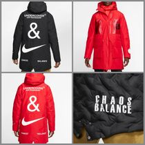 Nike Street Style Collaboration Plain Long Parkas